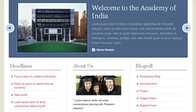 academy avjthemescom premiumthemes - Academy Wordpress Theme