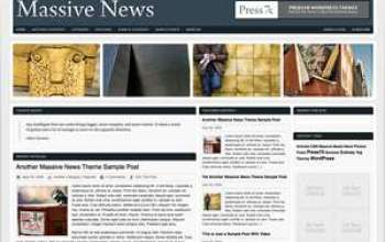 massive news - Press75 Wordpress Themes