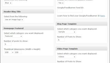 streamline 30 options - Streamline 3.0 Wordpress Theme