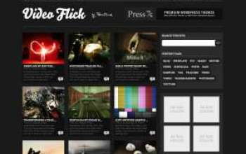 Video Flick WordPress Theme