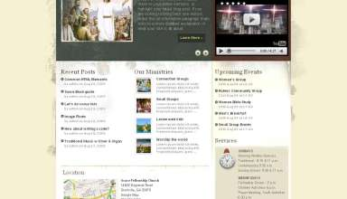 grace church premiumthemes avjthemes - Grace Wordpress Theme