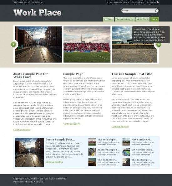 word place 550x597 - The Work Place WordPress Theme
