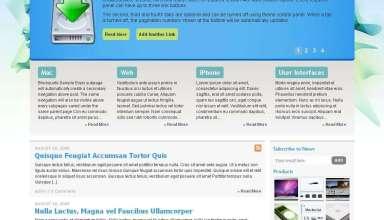 Dust WordPress CMS Theme - Dust Wordpress Theme