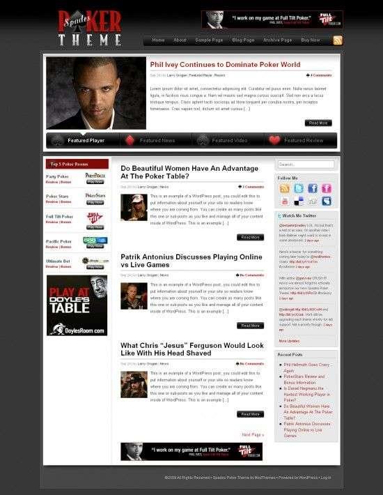 Spades Poker Theme 550x710 - Spades Poker Premium Wordpress Theme