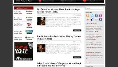 Spades Poker Theme - Spades Poker Premium Wordpress Theme