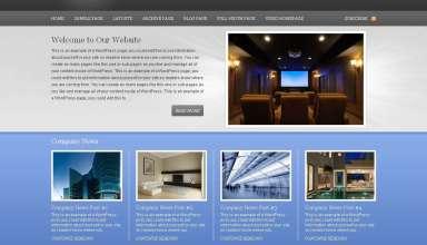 executive wordPress theme - Executive 1.0 Wordpress Theme