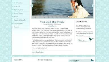 mr mrs avjthemescom premiumthemes - Mr. & Mrs. Wedding Wordpress Theme