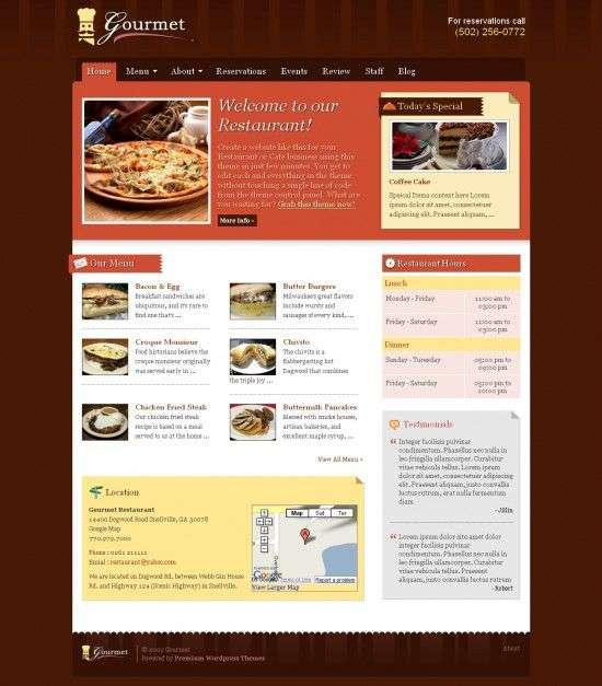 gourmet-premiumthemes-wordpress-theme
