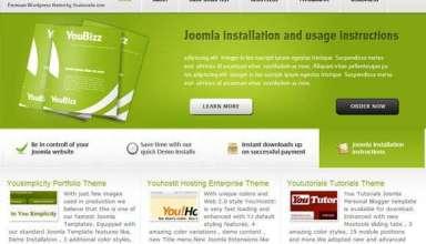 youbizz - You!Joomla Premium Wordpress Themes