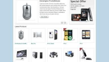 eshop ecommerce templatic themes - eShop eCommerce Wordpress Theme