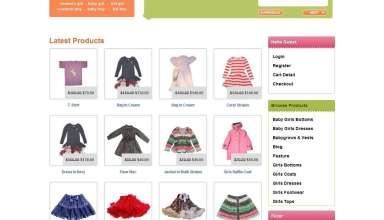 kidz store templatic themes - Kidz Store Wordpress Theme