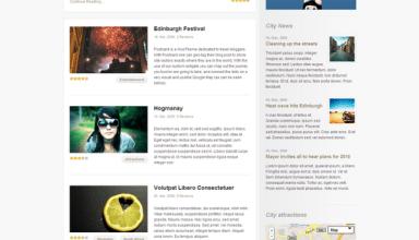 city guide wordpress theme - City Guide Wordpress Theme