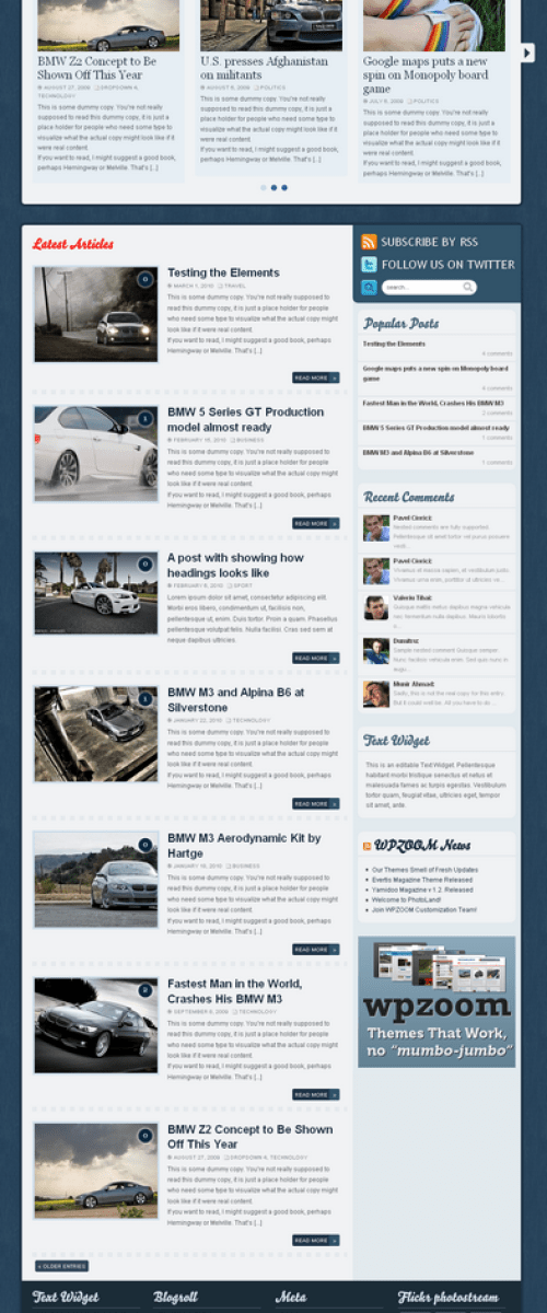 evertis magazine wpzoom avjthemes - Evertis Wordpress Theme