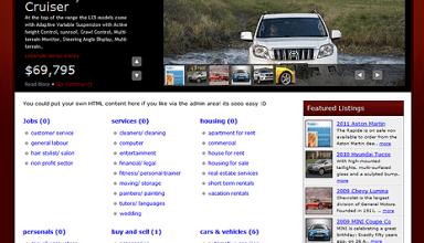 classifieds theme - PremiumPress Wordpress Themes