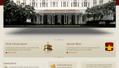 hospitality wordpress theme - Hospitality  Premium Wordpress Theme