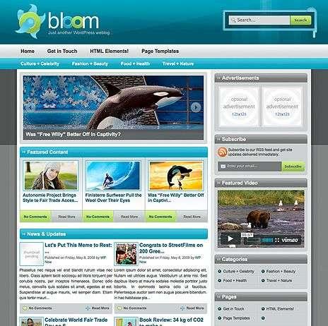 bloom wpnow theme - WpNow WordPress Themes