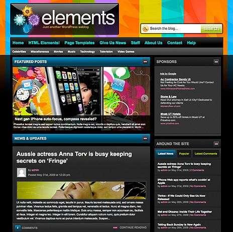 elements wpnow theme - WpNow WordPress Themes