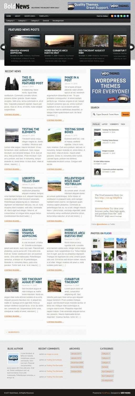 boldnews wordpress theme - BoldNews Premium WordPress Theme