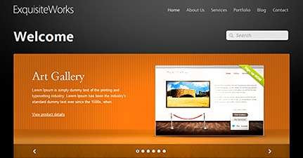 exquisite work wordpress theme - Themefuse Premium WordPress Themes