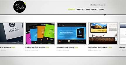 web studio wordpress theme - Themefuse Premium WordPress Themes