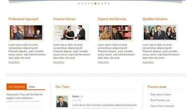 private lawyer wordpress theme - Private Lawyer Premium WordPress Theme