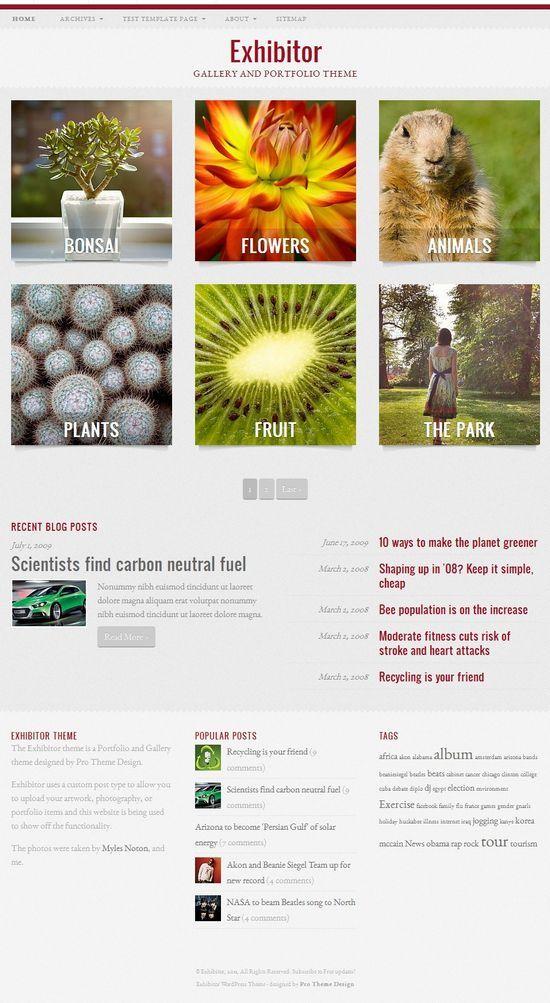 exhibitor prothemedesign avjthemescom - Exhibitor WordPress Theme