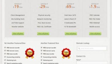 hosting pro bizzthemes avjthemescom - Hosting Pro WordPress Theme