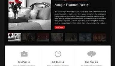 midnight wordpress studiopress theme avjthemescom - Midnight WordPress Theme