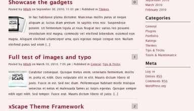 xposed dev4press avjthemescom 01 - Xposed WordPress Theme