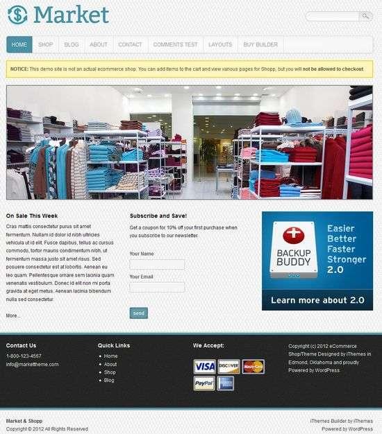 ithemes market avjthemescom 1 - iThemes Market WordPress Theme