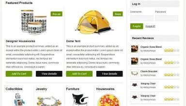 organic shop avjthemescom 01 - Organic Shop WordPress Theme