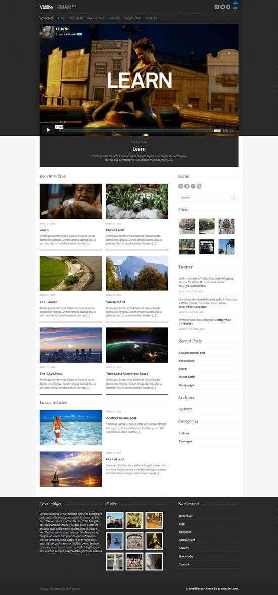 vidiho cssigniter avjthemescom 1 - Vidiho WordPress Theme