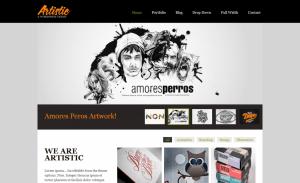 artistic - ThemePURE Premium WordPress Themes
