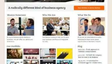 business agency magazine3 avjthemes - Business Agency WordPress Theme