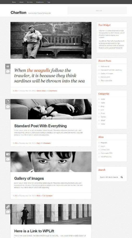 charlton wordpress theme - Charlton WordPress Theme