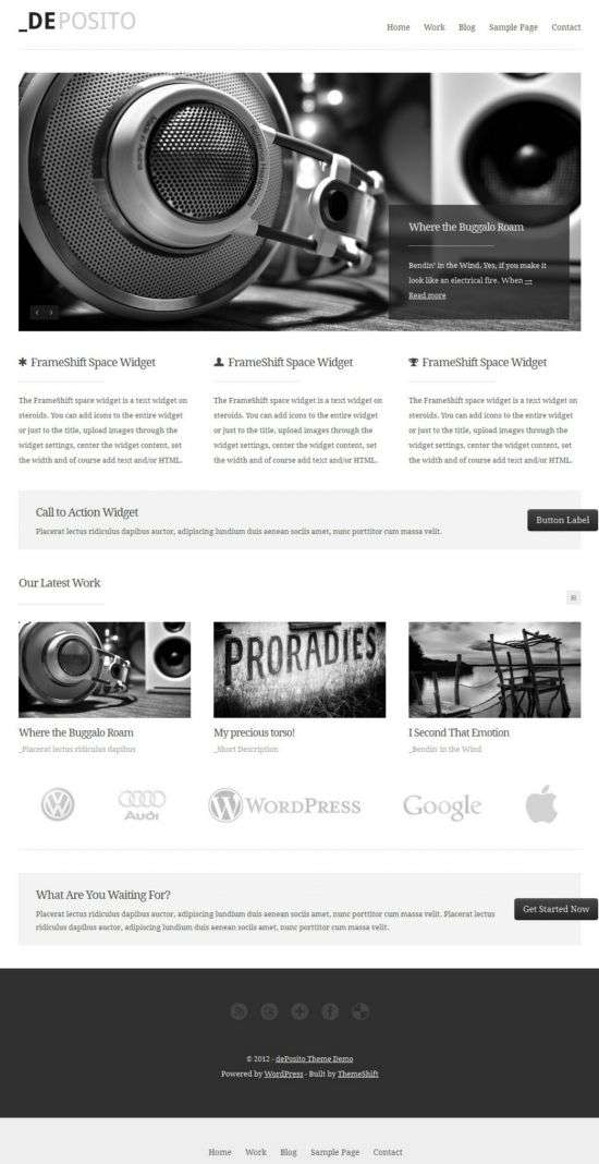 deposito themeshift avjthemescom 01 - dePosito WordPress Theme