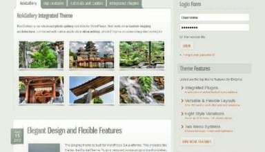 enigma rockettheme - Enigma WordPress Theme