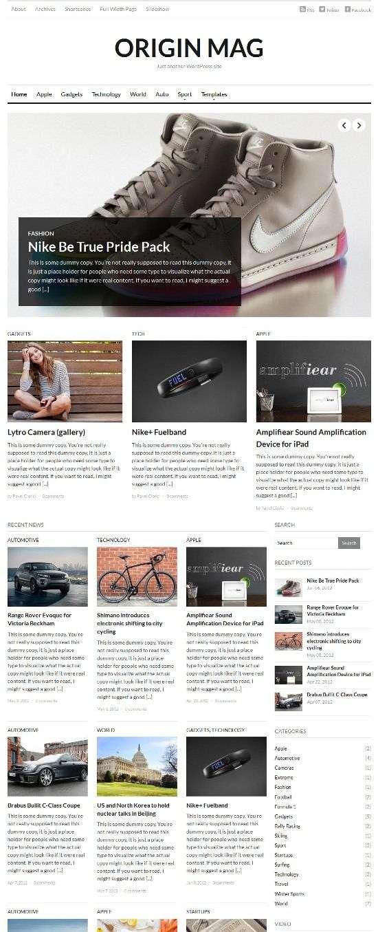 originmag wpzoom avjthemescom 01 - OriginMag WordPress Theme