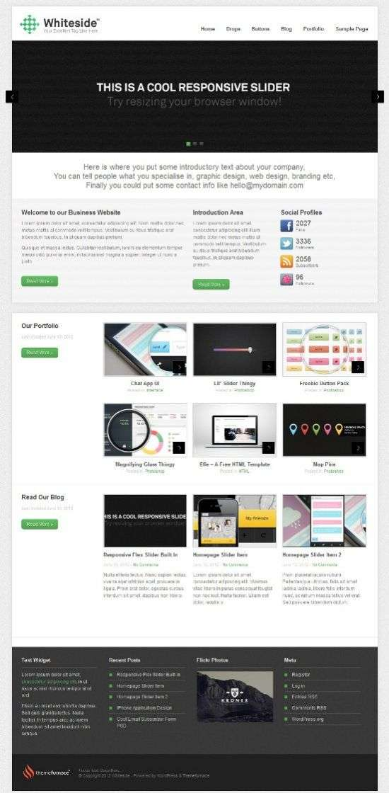 whiteside themefurnace avjthemescom 1 - Whiteside WordPress Theme