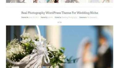 real photography inkthemes - Real Photography WordPress Theme