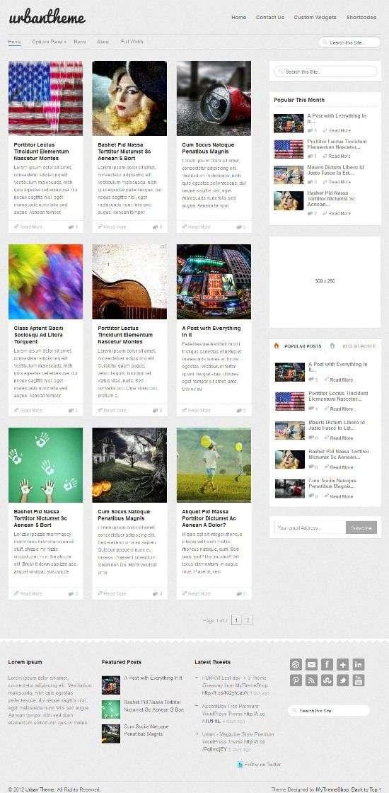 urban mythemeshop avjthemescom 01 - Urban WordPress Theme
