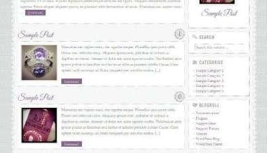 glitter and lace studiopress avjthemescom 01 - Glitter and Lace WordPress Theme
