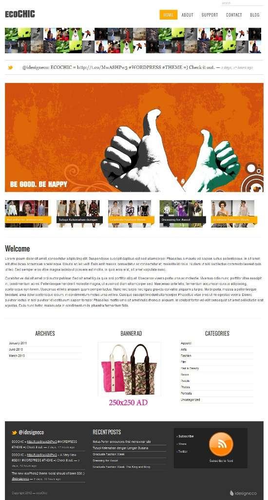 ecochic idesigneco avjthemescom 01 - ecoChic WordPress Theme