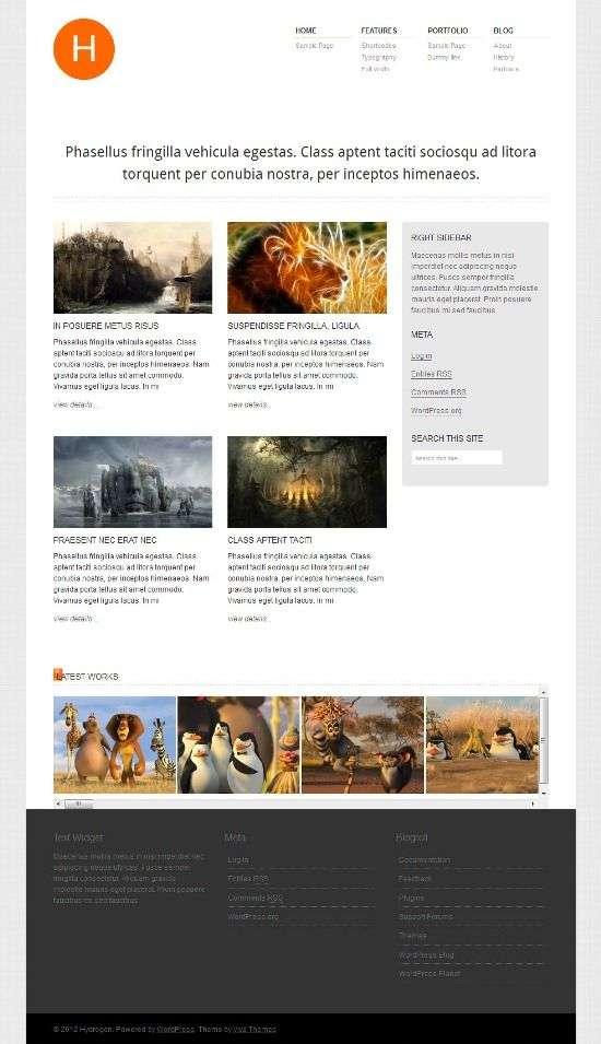 hydrogen vivathemes avjthemescom 01 - Hydrogen WordPress Theme