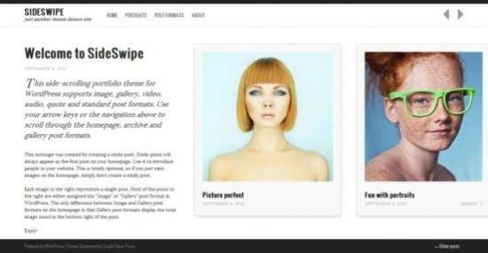 sideswipe graphpaperpress avjthemescom 01 550x285 - Sideswipe WordPress Theme