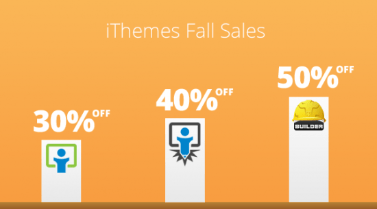 ithemes fallsales 550x305 - iThemes Fall Sales Discount Code Codes (October 2012)