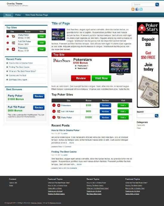 overlay flytonic avjthemescom 01 - Overlay WordPress Theme