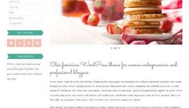 emerald bluchic avjthemescom 01 - Emerald WordPress Theme