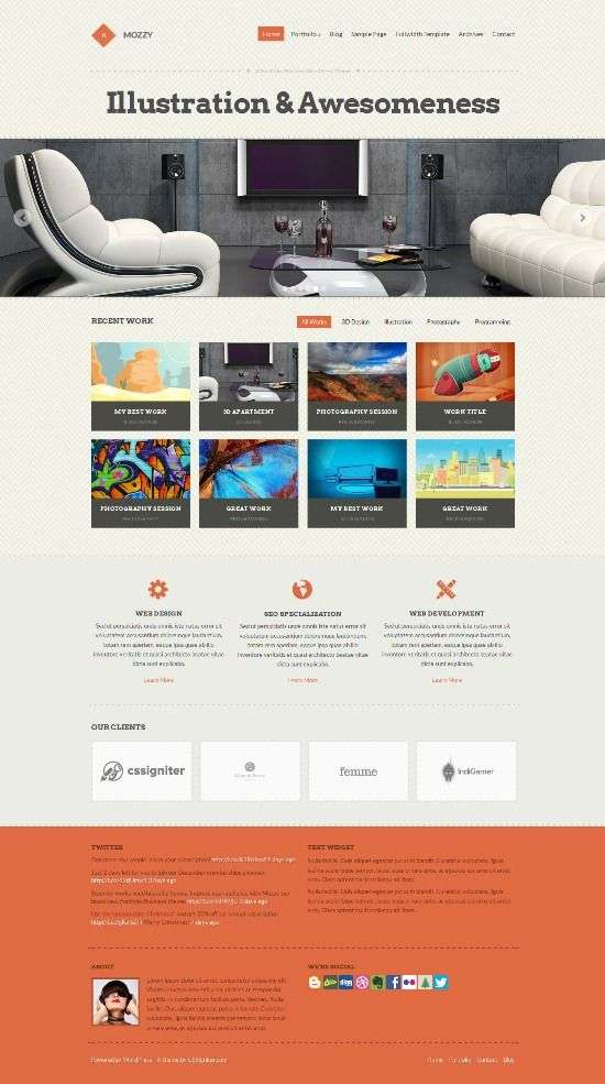 mozzy cssigniter avjthemescom 01 - Mozzy WordPress Theme