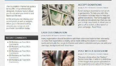 foundation organized themes avjthemescom 01 - Foundation WordPress Theme